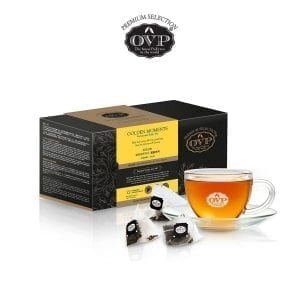 OVP® Gift Box GOLDEN MOMENTS® fermented PuEr Tea 12 years Vintage made in Singapore