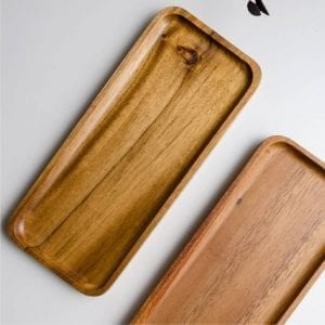 Solid Wooden Tray