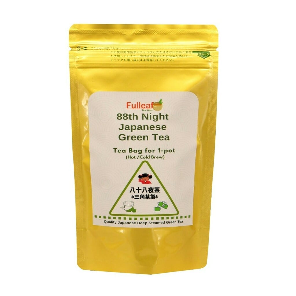 88th Night Japanese Green Tea (Tea bag for 1-pot)