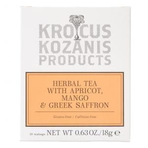 Herbal Tea with Apricot, Mango & Greek Saffron