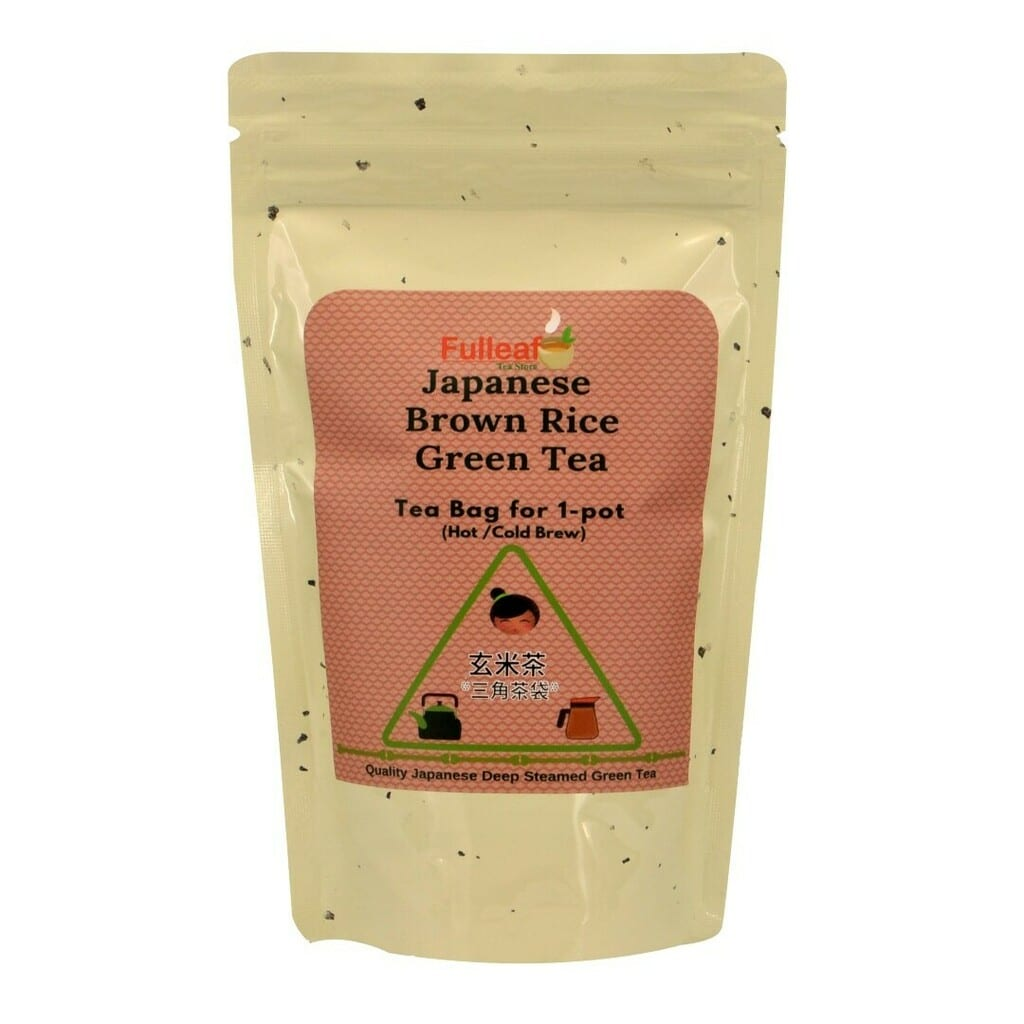 Japanese Brown Rice Green Tea (Tea bag for 1-pot)