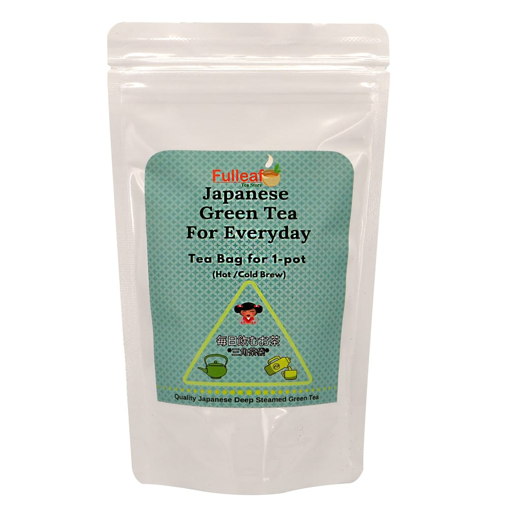 Japanese Green Tea for Everyday (Tea bag for 1-pot)