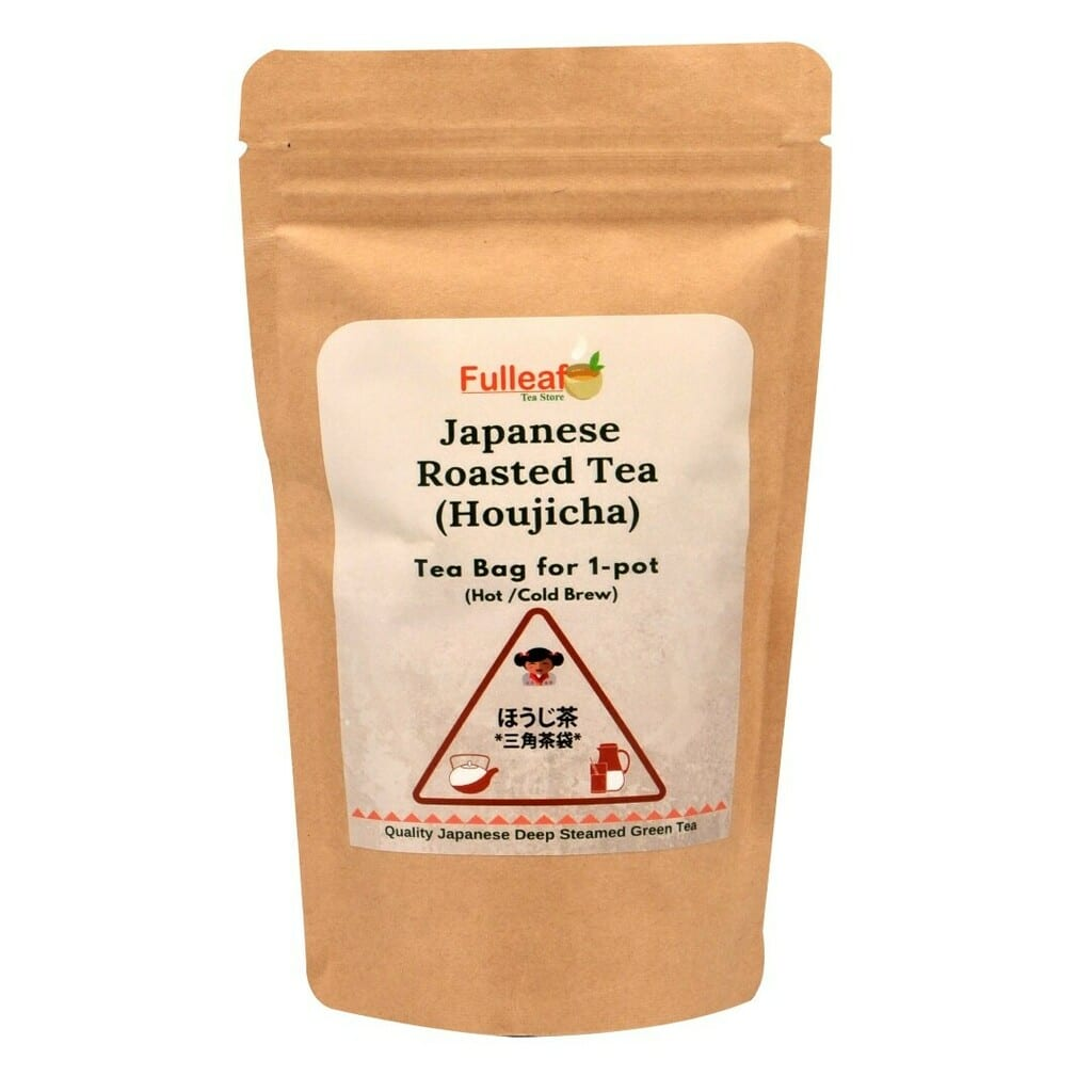 Japanese Roasted Green Tea Hojicha (Tea Bag for 1-pot)