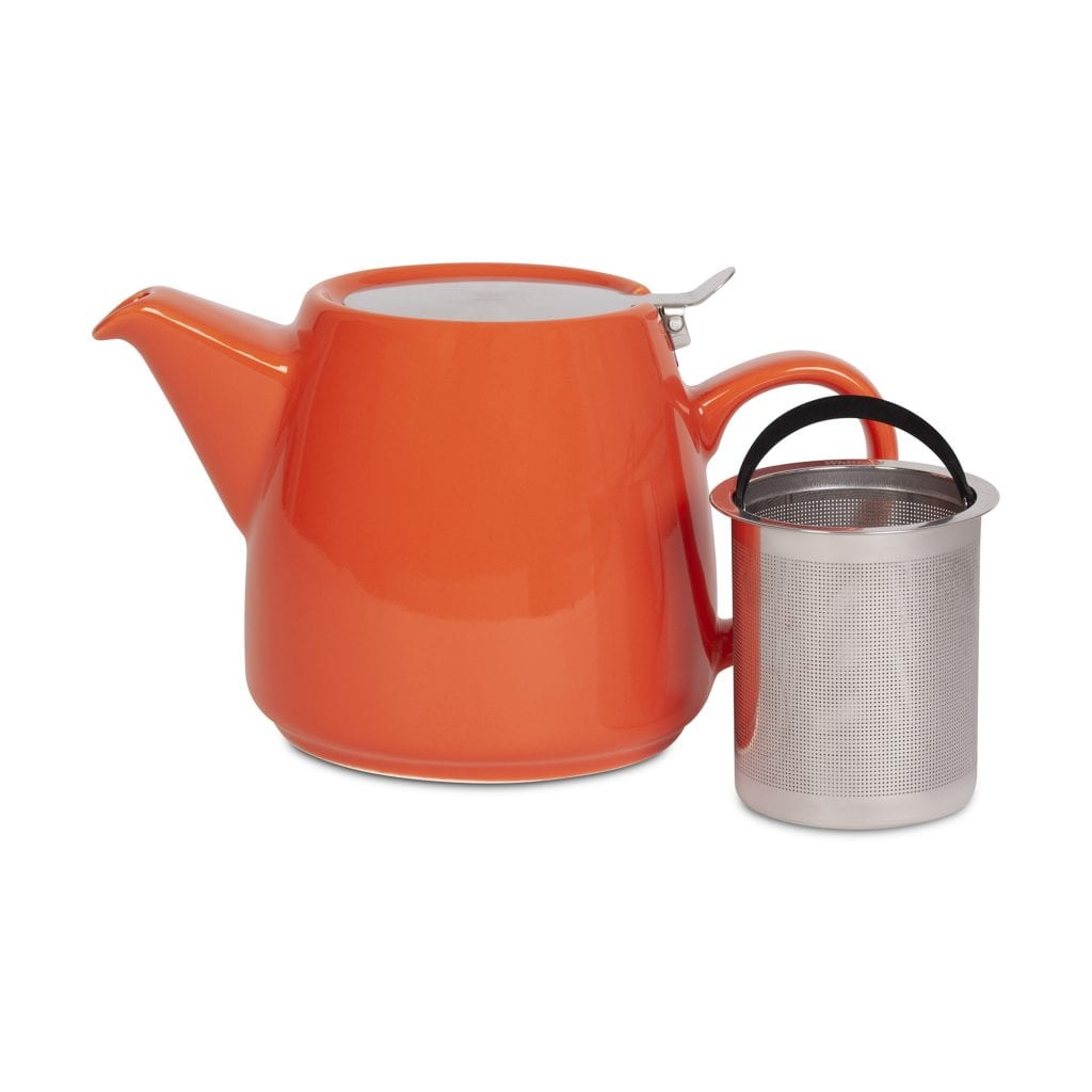 Coral Pao Teapot with Infuser