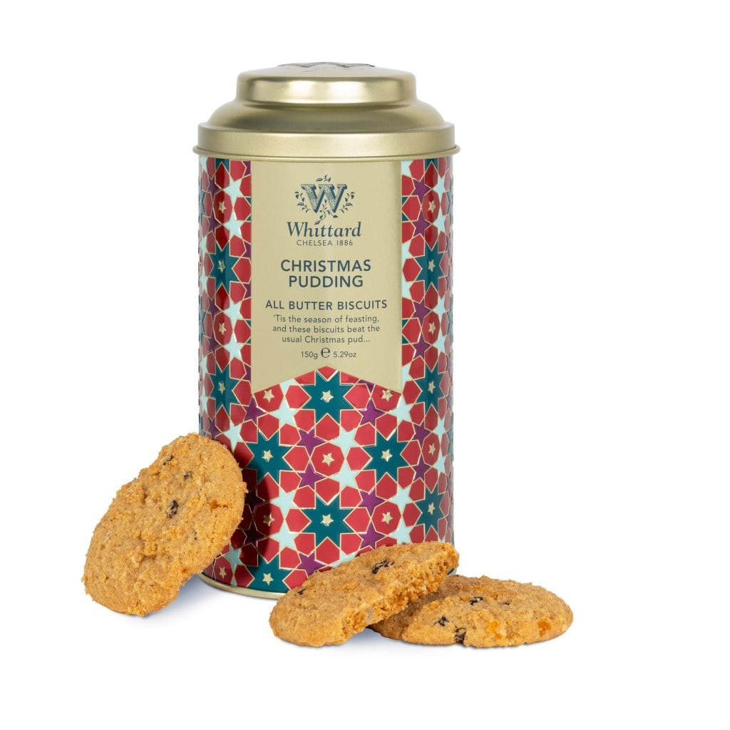 Christmas Pudding All Butter Biscuits