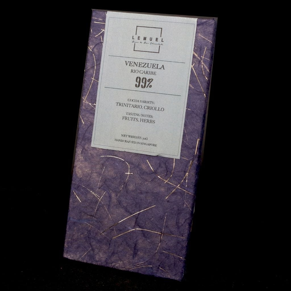 99% Dark Chocolate - Venezuela, Rio Caribe