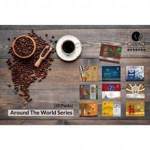 Around The World Series (10 packs) - Buy 10 packs and Get 2 packs of CNY Lucky Drip Coffee Bags FREE !!!