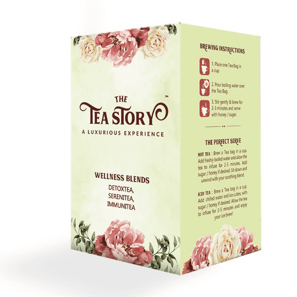 The Tea Story Wellness Blends Assorted Tea Box