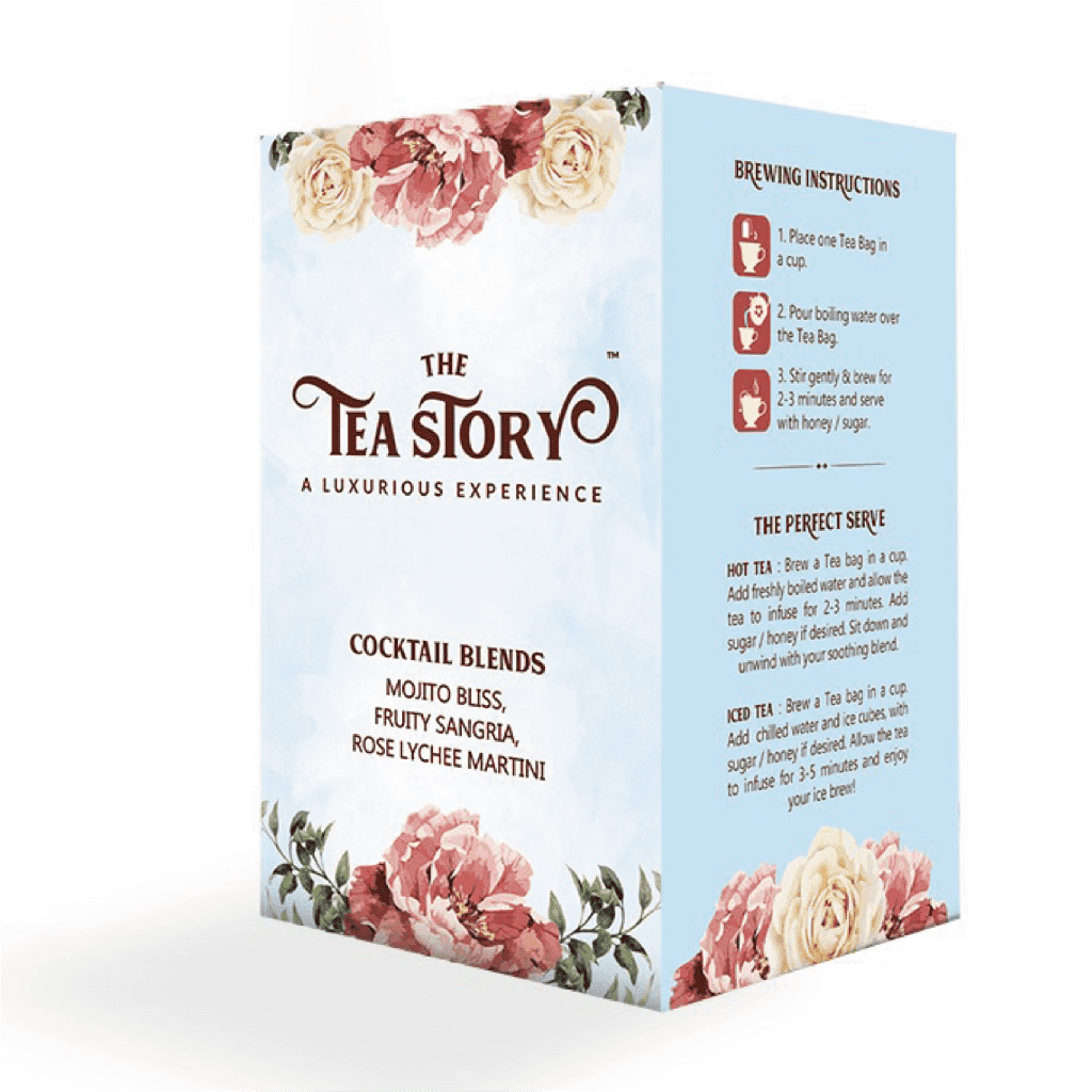 The Tea Story Cocktail Blends Assorted Tea Box