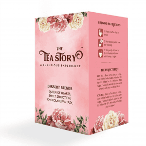 The Tea Story Dessert Blends Assorted Tea Box