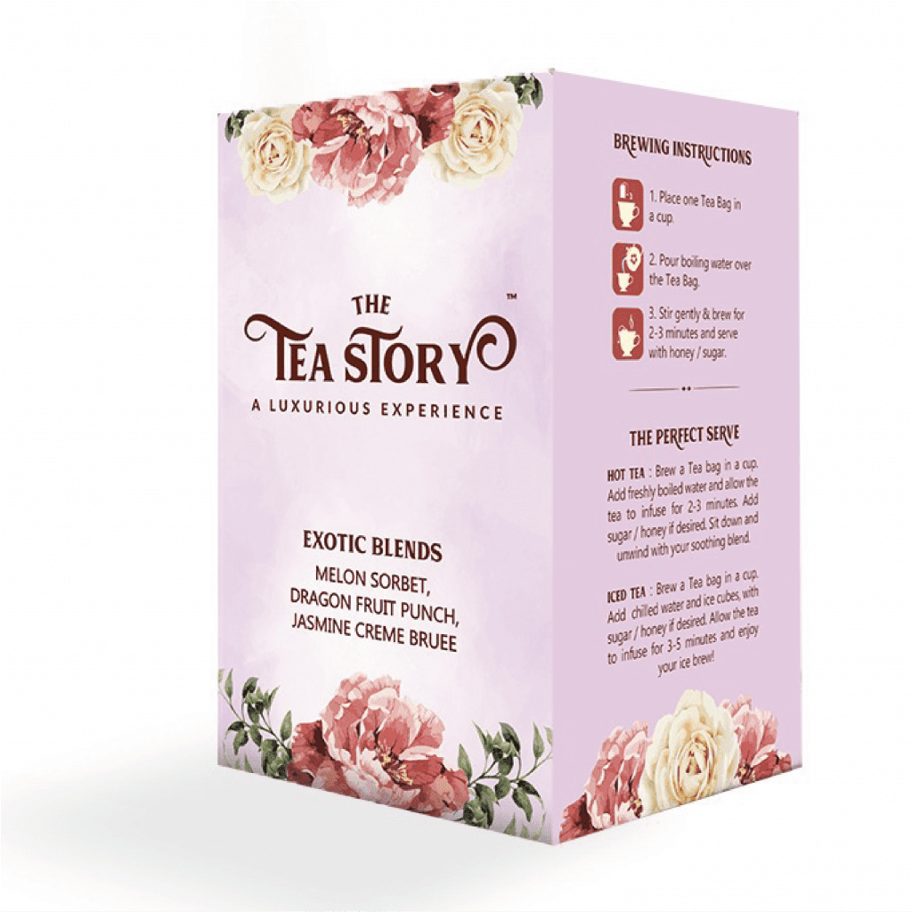 The Tea Story Exotic Blends Assorted Tea Box