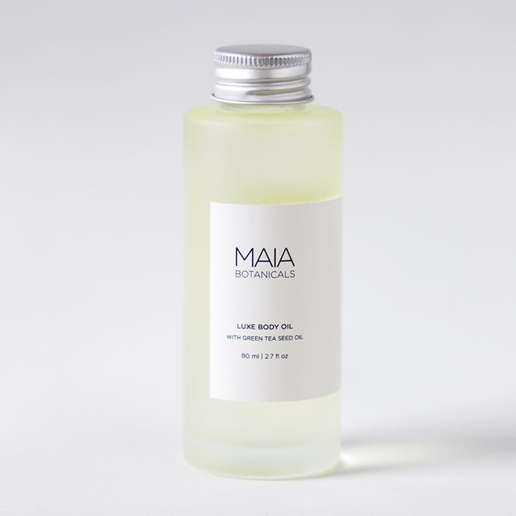 Luxe Body Oil with Green Tea Seed Oil