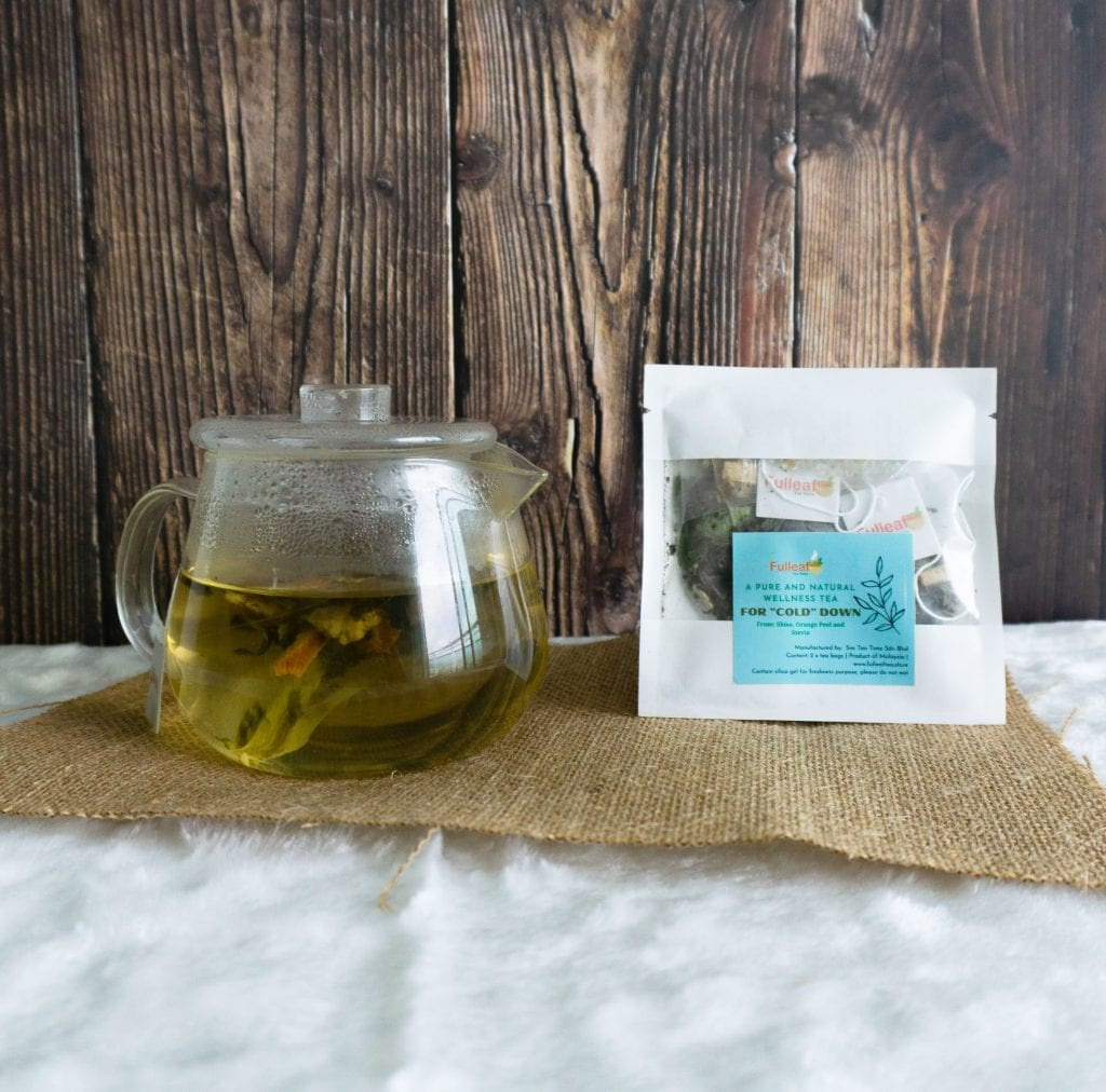 "Wellness Crafted Tea – For ""cold"" down"