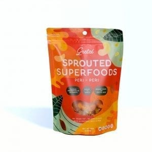 Sprouted Superfoods Peri Peri 150g