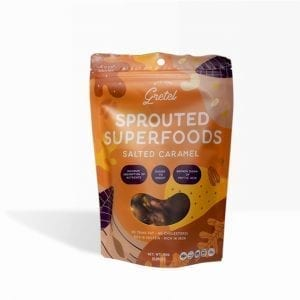 Sprouted Superfoods Salted Caramel 150g