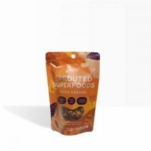 Sprouted Superfoods Salted Caramel 50g